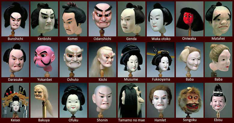 Japanese Culture Entertainment Bunraku