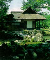The Shokintei teahouse