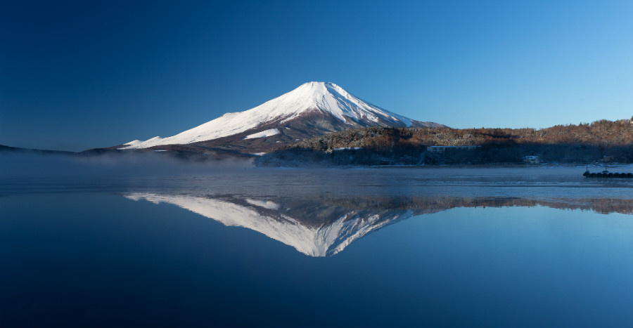 Mt. Fuji, a Beautiful Japanese Landscape