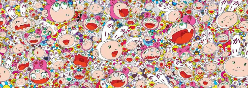 Takashi Murakami's art