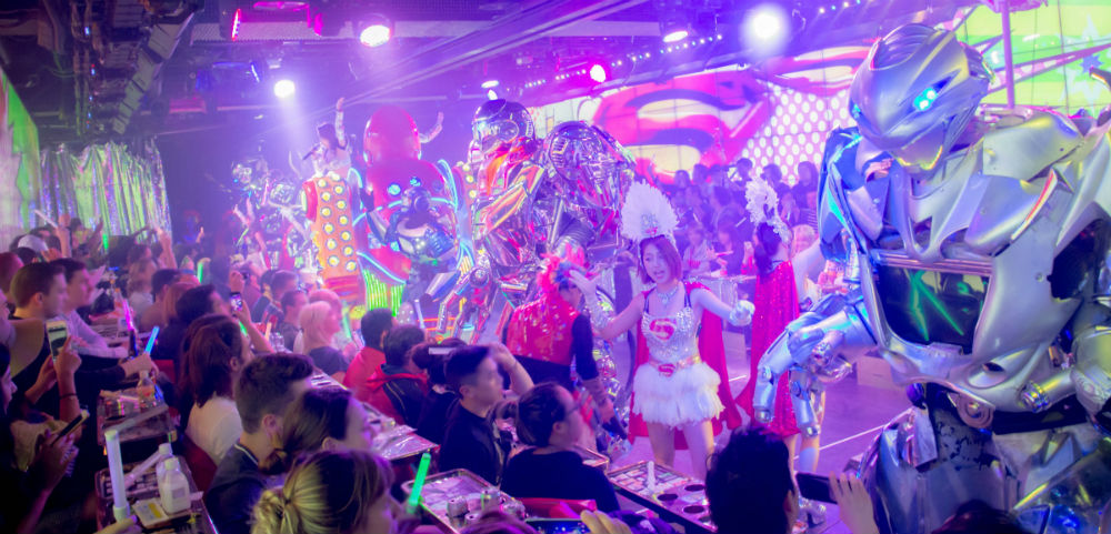 The Robot Restaurant in Shinjuku