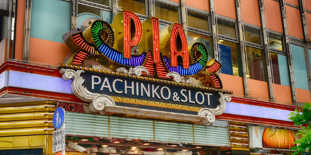 Colorful pachinko and slot parlors can be found all across the country.