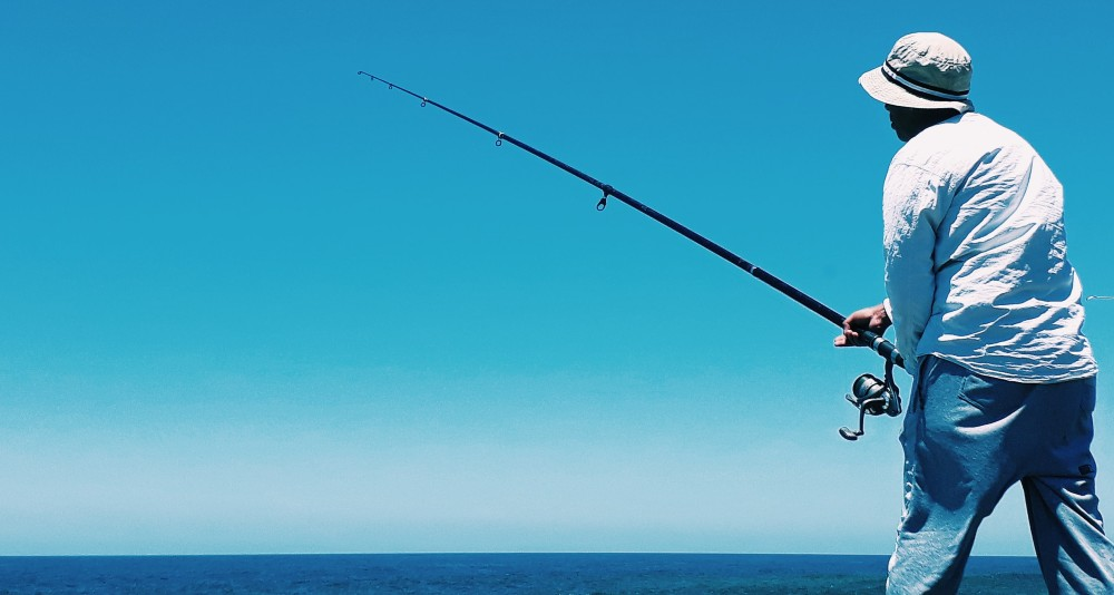 Japan's extensive coastline offers a huge variety of fishing oppotunities.