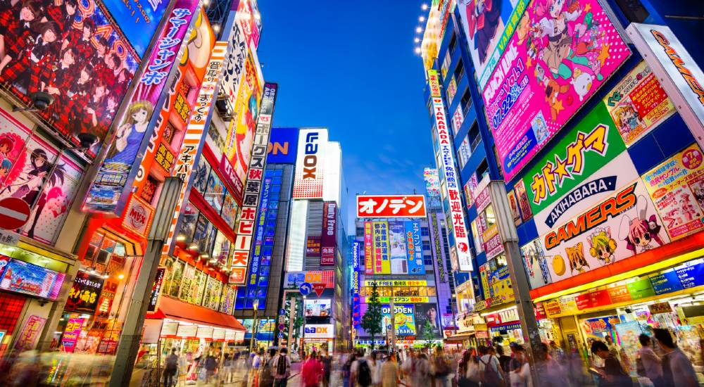 The Tokyo district of Akihabara is a mecca for fans of gaming, tech, anime and manga.