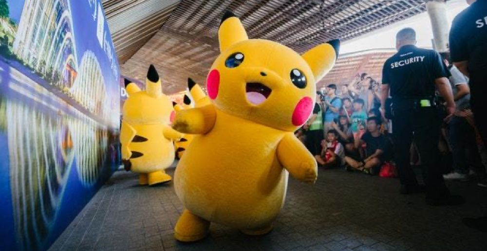 Pikachu, the principal character in the Pokemon universe, is recognized worldwide.