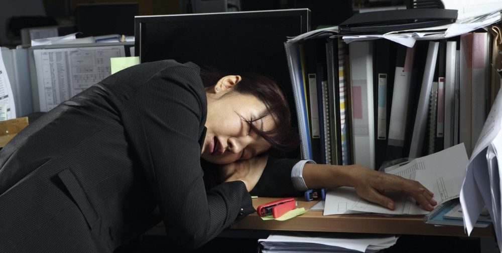 Recent government measures have yet to curtail the effects of long working hours.