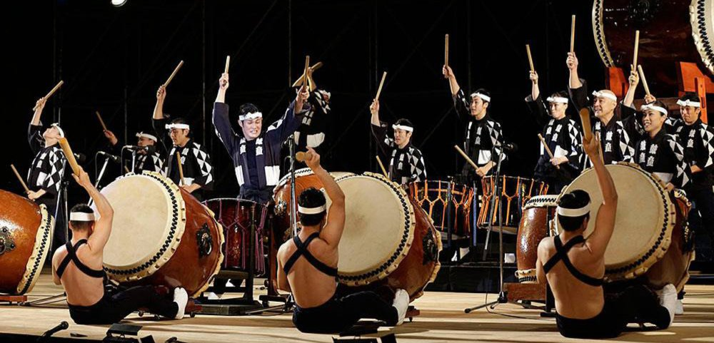 Kodo is the world's most famous and exciting taiko drumming troupe.