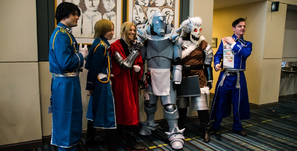 Fullmetal Alchemist has inspired many cosplayers, including these in the US in 2017.
