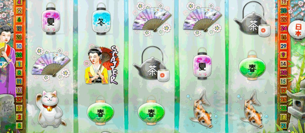 The Geisha Wonders slot game is hugely popular worldwide.