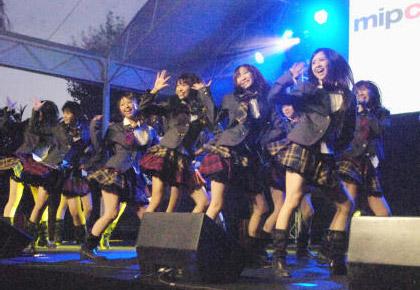 AKB48 at MIPCOM
