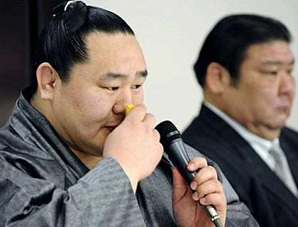 Asashoryu retires from sumo