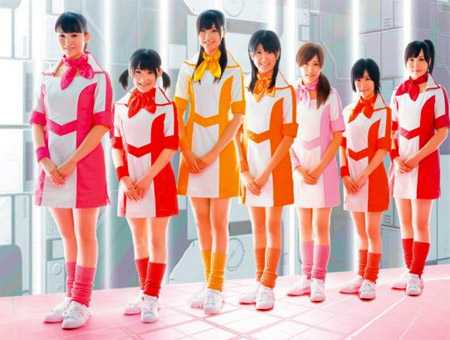 The teen idols are dropping like flies! Female idol group Berryz Kobo have ...