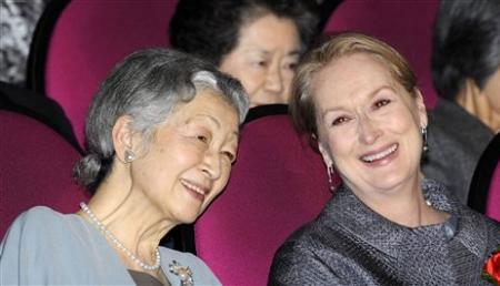 Empress Michiko, Meryl Streep