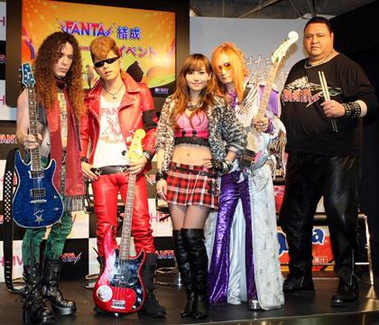 FANTA, Marty Friedman, Akebono, Tanimura Nana, Takamizawa Toshihiko, Ayanokoji Sho