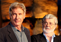 Harrison Ford, George Lucas in Tokyo