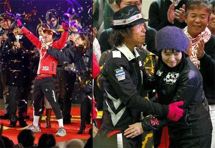 Hazama Kanpei Completes Earth Marathon