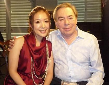Hirahara Ayaka, Andrew Lloyd Webber