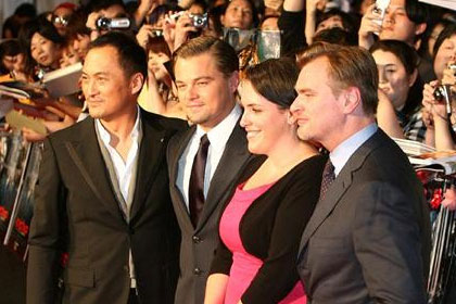 Inception Japan Premiere