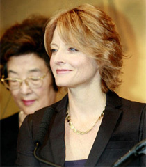 Jodie Foster in Japan