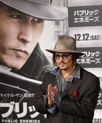 johnny depp public enemies. Johnny Depp, Public Enemies