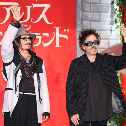 Johnny Depp, Tim Burton in Tokyo