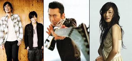 Kobukuro, Hotei Tomoyasu, Imai Miki