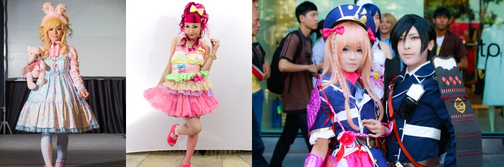 Decora, Lolita and Cosplay fashion