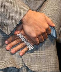 Nigo's wedding ring