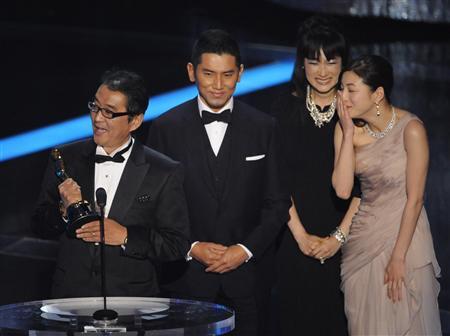 Okuribito, Oscar ceremony