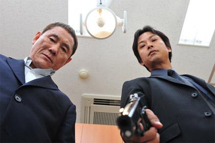 Kitano Takeshi, Shiina Kippei, Outrage