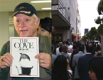 Ric O'Barry, Nakano event
