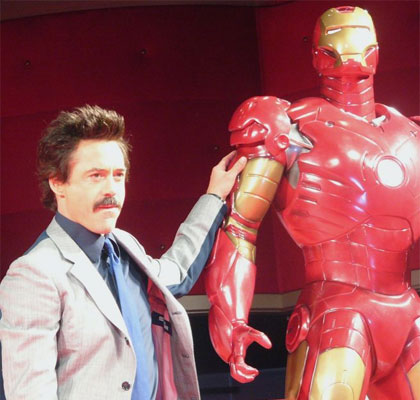 robert downey jr. iron man. Robert Downey Jr., Iron Man