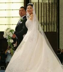 Sakata Wataru, Koike Eiko wedding
