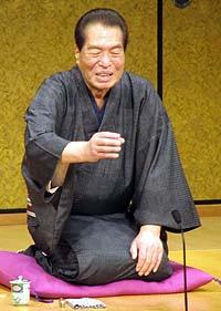 Japanese star Sanyutei Enraku