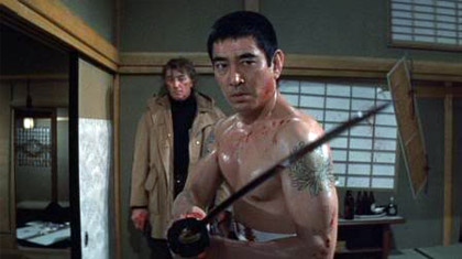 Takakura Ken in The Yakuza