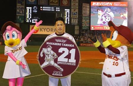 Tanaka Masahiro Record
