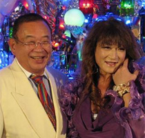 Toshi Itou and Katharine