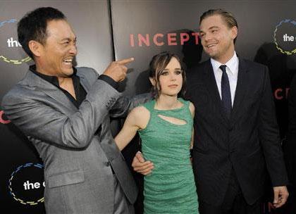 Watanabe Ken, Ellen Page, Leonardo Dicaprio