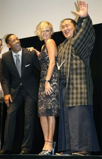 Will Smith, Charlize Theron, Asashoryu