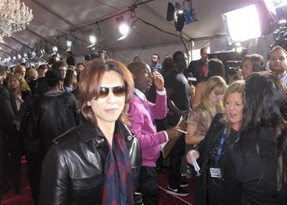 Yoshiki at the Grammys
