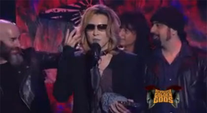 X Japan are Golden Gods