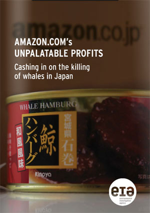 Amazon Japan sells whale meat products