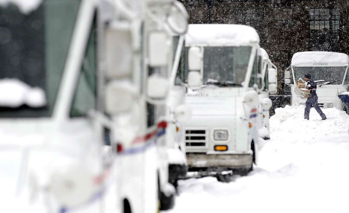 Winter weather delays