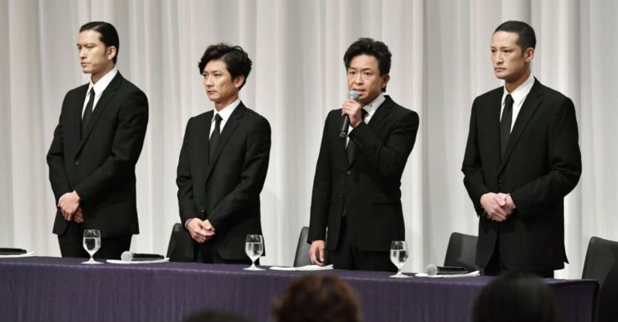 Remaining Tokio members hold press conference