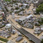 Flooding in Hiroshima (Kyodo)