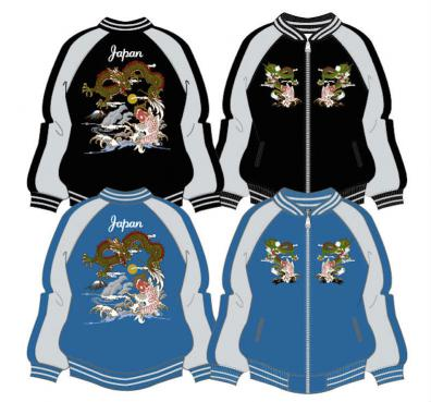 View NEW Sukajan Jacket - Dragon/Koi (3L/4L)