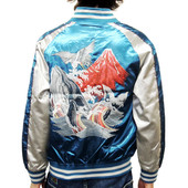 View Sukajan Jacket - Whale/Mt Fuji