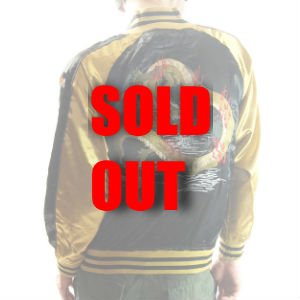 View Sukajan Jacket - Dragon (Black/Gold, M-XL)