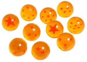 Dragon ball bouncy balls